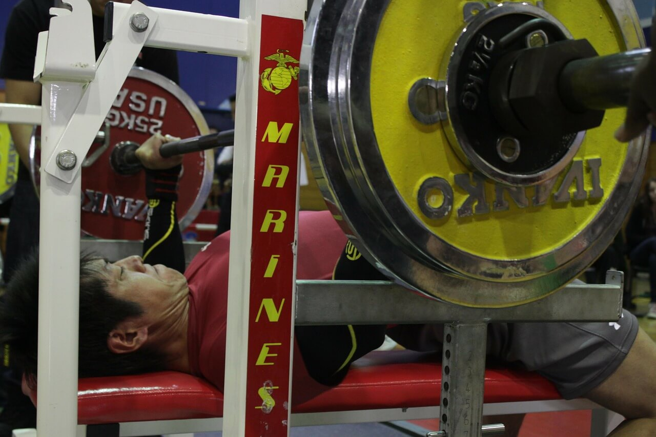 lats and the bench press